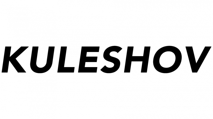 Kuleshov Logo New black